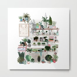 Plant Room Metal Print