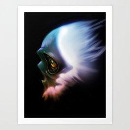 Spirit of a weary mind Art Print