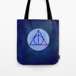 Deathly hollows Tote Bag