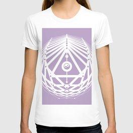 Radiant Abundance (lavender-white) T-shirt