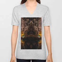 Caves - Mirror Mirror Unisex V-Neck