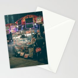 New york city Food Stationery Cards