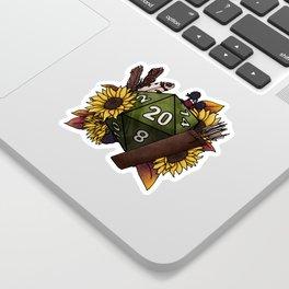 Ranger Class D20 - Tabletop Gaming Dice Sticker