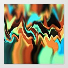 Infinity Mountains II Canvas Print