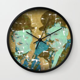 No Laurel Without Hardy Wall Clock