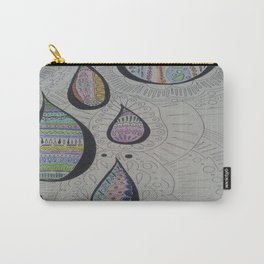 Paisley Tears Carry-All Pouch