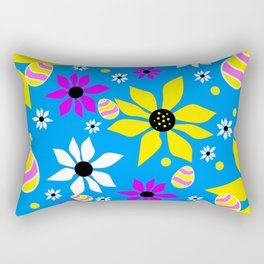 Easter Egg Hunt Rectangular Pillow