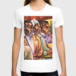 """African American Classical Masterpiece """"Amistad Jury"""" by Hale Woodruff T-shirt"""