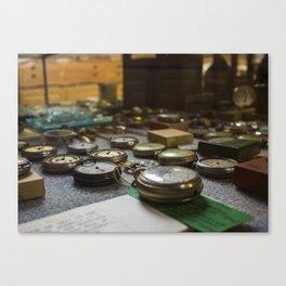 Waltham Watches Canvas Print
