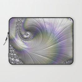 Fractal Art-Opalescent Shell Laptop Sleeve