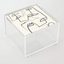 Abstract line art 12 Acrylic Box