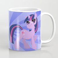 mlp Mugs featuring MLP FiM: Twilight Sparkle by Yiji