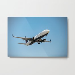 Delta Airlines Metal Print
