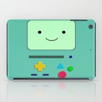 bmo iPad Cases featuring BMO by skyetaylorrr