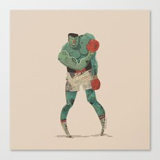 ...stings like a bee! Canvas Print