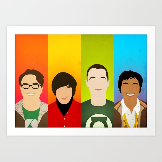 The Big Bang Theory Art Print