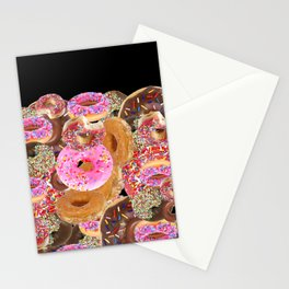 IRON&EMOTION I DONUT GIVE A DAMN ABOUT HAVING ABS Stationery Cards