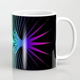 Sound Waves. Neon dark matter wave oscillations Coffee Mug