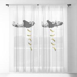 Banana Underground Sheer Curtain