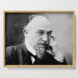 Henri Manuel -Portrait of Erik Satie Serving Tray