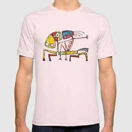 Ballerina riding T-shirt