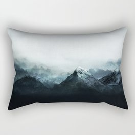 Mountain Peaks Rectangular Pillow