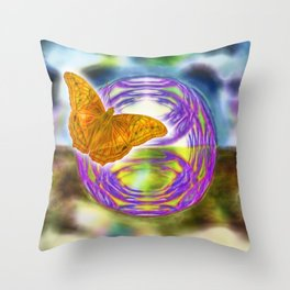 The wind beneath my wings Throw Pillow
