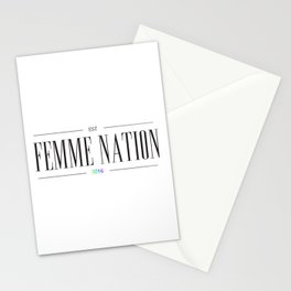 Femme Nation Stationery Cards