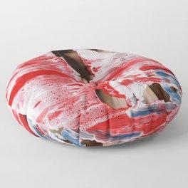 Red 001 Floor Pillow