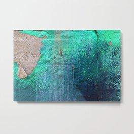 Green Entropy I Metal Print