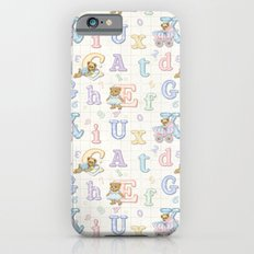Teddy Bear Alphabet ABC's Slim Case iPhone 6s