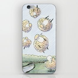 The Gas Phase of Matter iPhone Skin