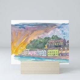 Portree Isle of Skye Scotland Sunset Mini Art Print