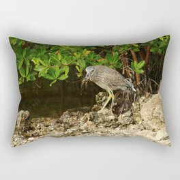 Love Crabs For Lunch Rectangular Pillow