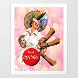 Coca-Christ Art Print