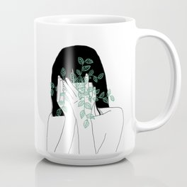 A little bit dissapointed in humanity / Illustration Coffee Mug