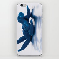 scuba iPhone & iPod Skins featuring Scuba Man by f8andcounting