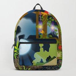 Full Moon Magical Garden Backpack