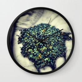 Dirty Hands/Glowing Heart Wall Clock