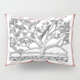 The Bedford Oak Zentangle Illustration Pillow Sham