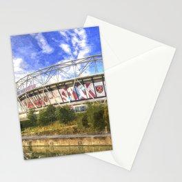 West Ham Olympic Stadium London Art Stationery Cards