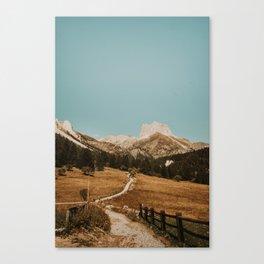 Mont Thabor/// Gran Séru Canvas Print