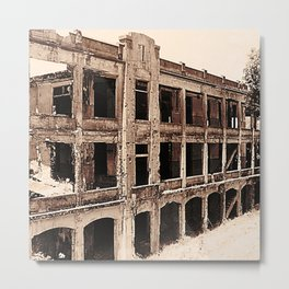 Mile-Long Barracks Metal Print