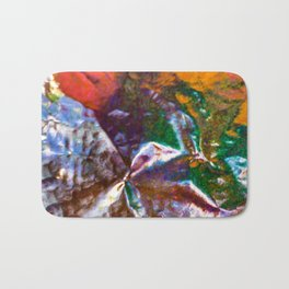 Inside Brain Bath Mat