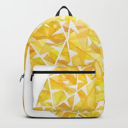 Yellow Oval Gem Backpack