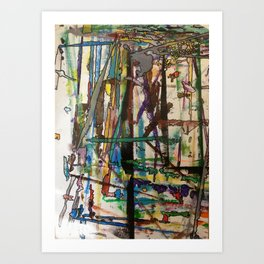 Thought Processes Art Print