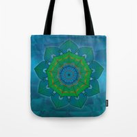 lotus Tote Bags featuring Lotus by Angelo Cerantola