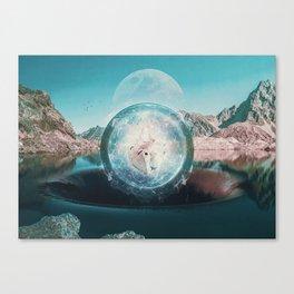 Suction Canvas Print