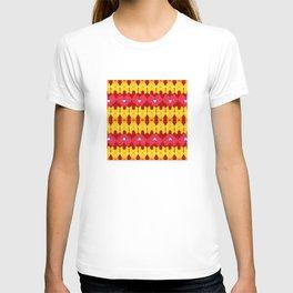 Iron Man Pattern T-shirt