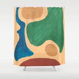 16 | Imperfection | 190325 Abstract Shapes Shower Curtain